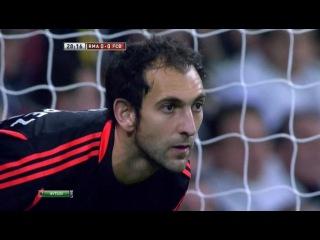 Реал Мадрид - Барселона / Кубок Испании 2012-13 / 1/2 финала / Первый матч / 1 тайм