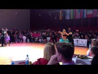 Герман Мажирин,Елизавета Светлова самба-1/2финала