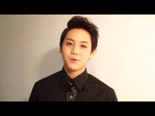 [CLIP] 1.04.2013 YoSeobs Message for The First Collage Japan Edition