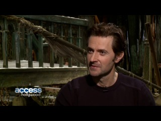 The Hobbit: The Desolation Of Smaug - Richard Armitage Talks Thorin & Gandalf's First Meeting