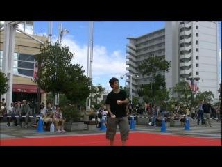 Japanese juggler Kohei