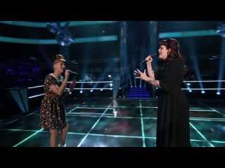 Melanie Martinez vs. Caitlin Michelle - Lights (The Voice USA)