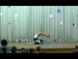 Сестрёнка выступает в школе,конкурс