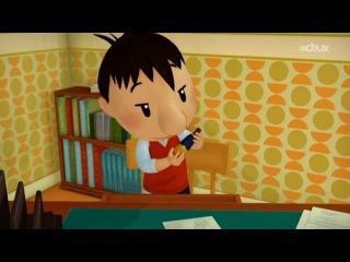 Le petit Nicolas - Tuuuut. Маленький Николя. Мультфильм на французском языке