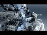 2013 new BMW R 1200 GS Air-water-cooled boxer engine with vertical flow promotional video