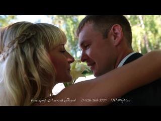 Свадебный Клип Игорь и Жанна   ( Свадебное видео, свадебный клип. видеограф, видеооператор на свадьбу Липецк )