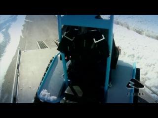 Инвалидная коляска снегоход-вездеход / Der Ziesel - Wheelchair snowmobile