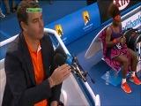 Australian Open 2013 / 4 круг / Серена Уильямс (США) - Мария Кириленко (Россия)