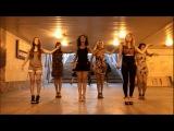 Sonya Dance - работают в переходе / как всегда классно /