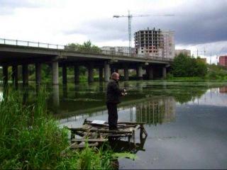 Река Псёл и Витя Остапенко.