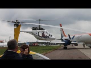R-30 Роторфлай. Заход и посадка в Раменском (1.09.2013)