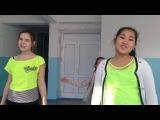 Девочки поют песню из сериала Виолетта с танцем