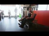 Мастер-класс Victor Martinez. Тренировка ног.