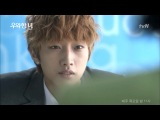 """tvN """"She is Wow!"""" episode 3 - Jinyoung's kissing scene cut"""