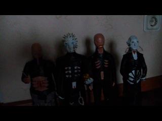 Демоны-сенобиты из фильма Восставший из Ада.
