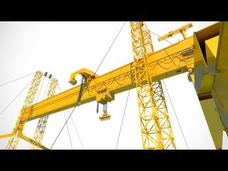 World's largest Goliath Gantry Crane by Konecranes..