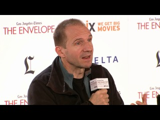 """P4 The Invisible Woman:The Envelope Screening Series  Actor and director Ralph Fiennes and actress Felicity Jones discuss the film """"The Invisible Woman"""""""