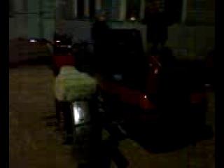 Мотоцикл с музыкой в Ельтесуново)))))