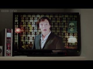 Новогоднее поздравление от Шерлока :)