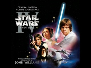 Star Wars Episode IV Soundtrack - Tales of a Jedi Knight/Learn About the Force