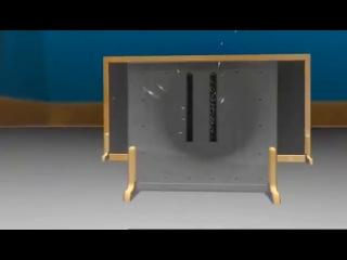 Доктор Квантум - эксперимент с двумя щелями и эффект наблюдателя