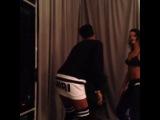 16 ноября 2013: Кара на концерте Рианны, Новый Орлеан