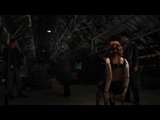 Сцена допроса Черной Вдовы