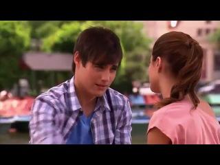 Первый поцелуй Леона и Виолетты.(1 сезон 34 серия)
