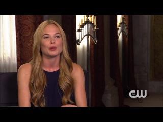 Reign : Celina Sinden Interview