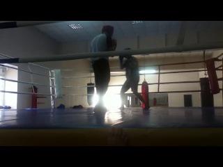 Первый раз на ринге :)
