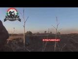 Сирия. Армейский снайпер САА попал прямо в голову оператору ССА