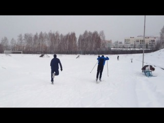 Лыжник vs бегун vs вело