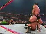WWE RAW: Scott Steiner (w/ Stacy Keibler) Vs. Randy Orton (4 Августа 2003)