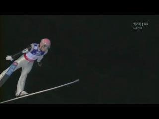 Manuel Fettner - landing