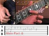 Chuck Berry - Johnny B. Goode Guitar Lesson (видеоурок для электрогитары)