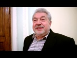 Юлий Гусман дает интервью сайту