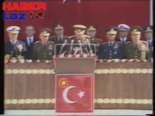 Devlet Başkanı Org. Kenan Evren 'in İzmir Konuşması (1.11.1982)(2)