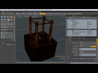 Создание фотореалистичной композиции с плавающими свечами в Maya и Modo. Урок 4