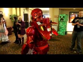 Нереально крутой костюм для косплея Железного человека