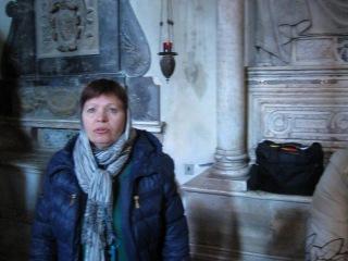Базилика Б.М. в Риме.мощи св.Елены-царицы ( окт.2012)