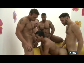 [men] the gay dating game (robert axel, tommy defendi, zane michaels, tony newport, rocco reed)