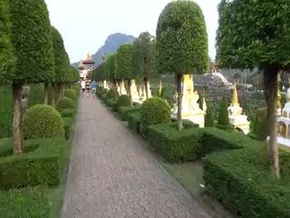 Тропический сад Нонг Нуч в Патайе