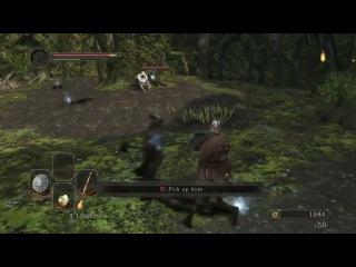 Dark Souls 2 - 8 минут геймплея!