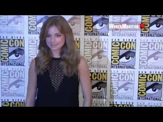 Revenge's Emily VanCamp arrives at Marvel's Captain America