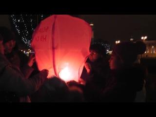 Экскурсия Новогодний Петербург-зажигаем  воздушный фонарик