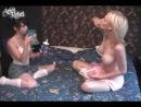 Шикарные девочки играют в покер на раздевание