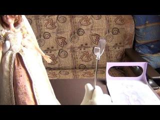 Анбоксинг куклы Рапунцель, героини мультфильма