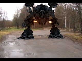 3д макс ! робот киллер