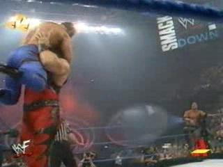 WWF SmackDown! 03.08.2000 - Мировой Рестлинг на канале СТС / Всеволод Кузнецов и Александр Новиков
