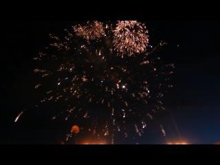 салют на День Независимости .Витебск.04 июля 2013